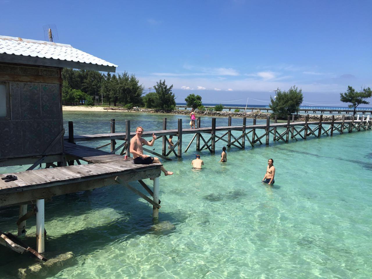 Tidung Lagoon tempat bermain dan bersantai paling nyaman