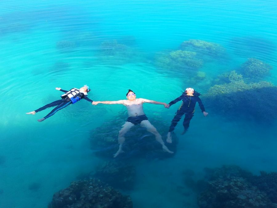 Berenang Bersama Anak