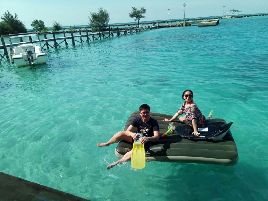 Very fun place in Tidung Lagoon