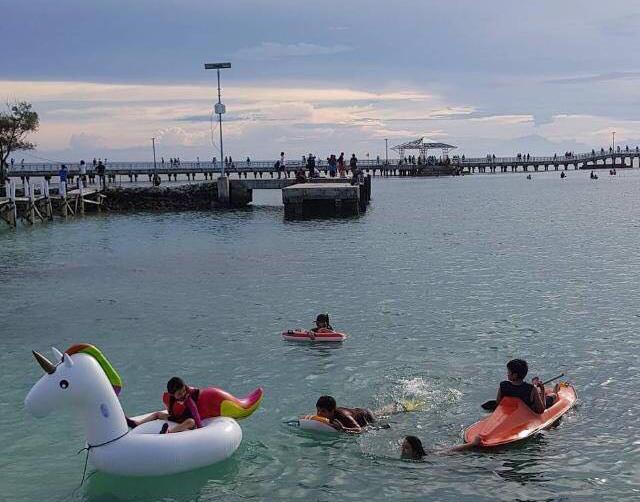 Fun water playground