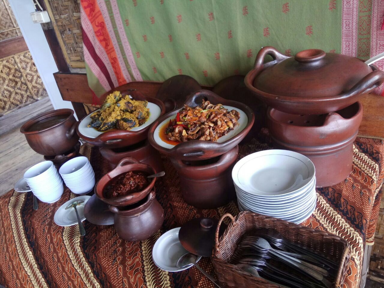 Delicious and traditional dishes