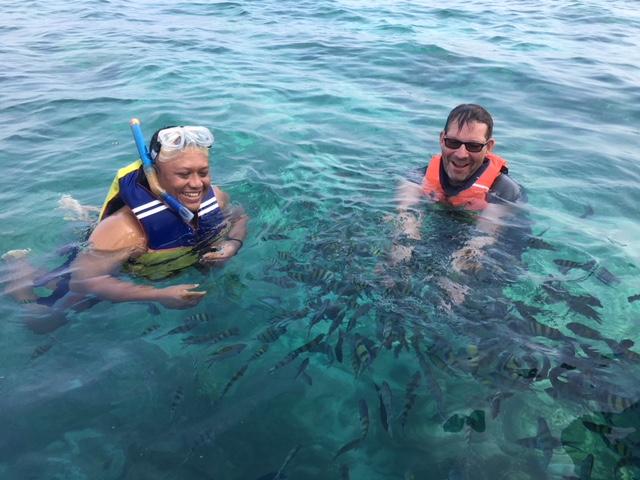 Snorkeling so fun